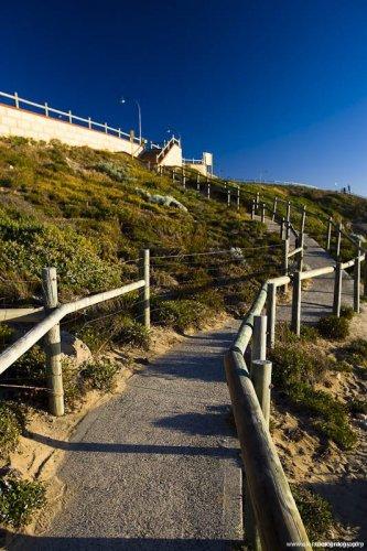 Path at Bennion Beach