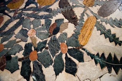 Mosaic near Tuart Lawn